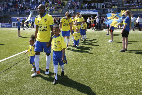 LEEUWARDEN , voetbal, 08-05-2016 , Eredivisie , seizoen 2015 - 2016 , Cambuur Stadion , SC Cambuur - Excelsior , line-up